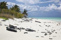 Las isletas del Schooner abandonaron la isla Imagenes de archivo