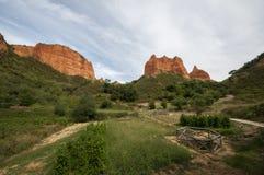 Las Krajobraz Medulas Fotografia Royalty Free
