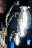Las lámparas de los tubos de agua Imágenes de archivo libres de regalías