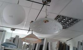 Las lámparas son hermosas y decortive foto de archivo
