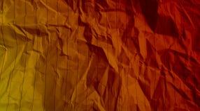 Las líneas arrugadas efectos de papel de las rayas del multicolor empaquetan Fondo imagen de archivo