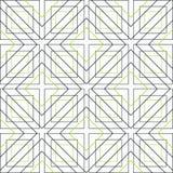 Las líneas coloreadas y los polígonos en un fondo blanco vector el ejemplo stock de ilustración