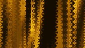 Las líneas ornamentales del oro suave abstracto del color rayan colorido animado dinámico del nuevo movimiento universal de la ca ilustración del vector