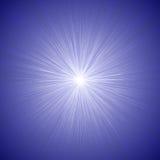 Las líneas radiales gráfico de la velocidad efectúan el azul 01 del fondo Fotos de archivo