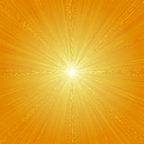 Las líneas radiales gráfico de la velocidad efectúan la naranja 01 del fondo Imagen de archivo