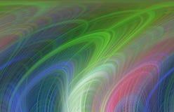 Las líneas suaves vivas, colores, líneas fondo, mezcla suave ponen en contraste, los gráficos abstractos Fondo y textura abstract Stock de ilustración