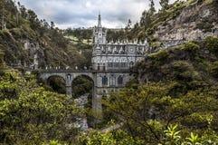 Las Lajas,哥伦比亚 免版税库存图片