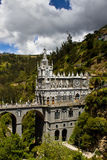 Las Lajas Church Royalty Free Stock Images