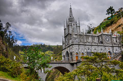 Las Lajas Church in South of Colombia Royalty Free Stock Photography