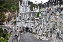 Las Lajas Church in South of Colombia Stock Photo