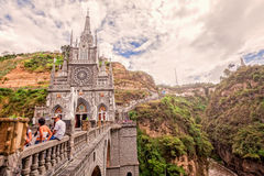 Las Lajas Sanctuary, Catholic Church, Colombia Royalty Free Stock Photo