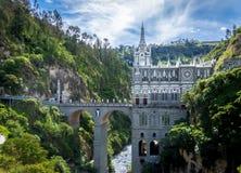 Las Lajas Sanctuary - Ipiales, Colombia Royalty Free Stock Photos