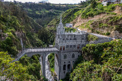 Las Lajas Sanctuary - Ipiales, Colombia Stock Photography