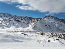 Las Leñas Ski Resort, Argenina Fotografia de Stock