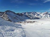 Las Leñas Ski Resort, Argentina Fotos de Stock