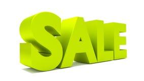 las letras del texto de la venta 3d rinden Fotos de archivo libres de regalías