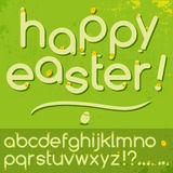 ABC de Pascua Fotografía de archivo