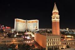 las linia horyzontu Vegas Zdjęcie Stock