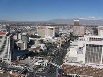 las linia horyzontu Vegas obraz stock