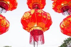 Las linternas chinas se encuentran a menudo en Año Nuevo chino Imagenes de archivo