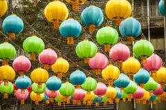 Las linternas del chino tradicional fotos de archivo