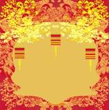 Las linternas traerán buena suerte y paz Imagen de archivo libre de regalías