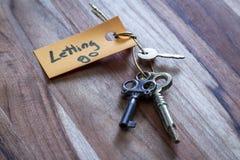 Las llaves secretas para dejar van de vida fotografía de archivo libre de regalías
