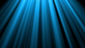 las luces azules del cielo 4K desde arriba de la lente óptica suave señalan por medio de luces animación brillante del fondo del  almacen de metraje de vídeo