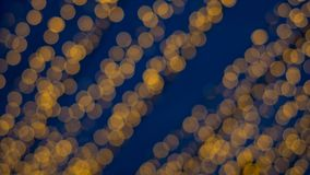 Las luces de Bokeh del verde amarillo y del rosa del fondo abstracto se adaptarían para cada festival Imagen de archivo