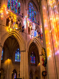 Las luces de dios Imagen de archivo