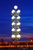 Las luces de la bola Fotos de archivo