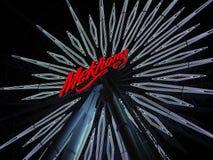 Las luces de la noria Imagen de archivo libre de regalías