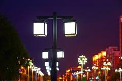 Las luces del cubo Foto de archivo libre de regalías