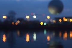 Las luces del Vístula Fotos de archivo libres de regalías
