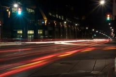 Las luces se intersecan fotos de archivo