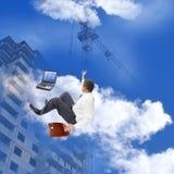 Las más nuevas tecnologías de la construcción Imagen de archivo libre de regalías