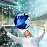 Las más nuevas tecnologías de la telecomunicación Fotografía de archivo libre de regalías