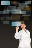 Las más nuevas tecnologías innovadoras Imágenes de archivo libres de regalías