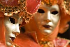 Las máscaras de Venecia Fotografía de archivo