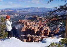 Las malas sombras, Bryce Canyon, Utah, los E.E.U.U. fotos de archivo