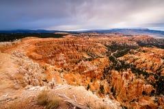 Las malas sombras de Bryce Canyon National Park fotos de archivo