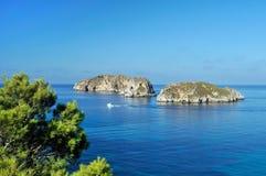 Las Malgrat Islands Stock Images