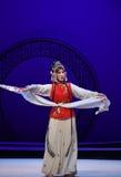 """Las mangas largas del actor o del bailarín en el  del oeste clásico de Chamber†del """"the de la ópera de las óperas o de las d foto de archivo"""