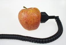 Las manzanas le dan energía Fotografía de archivo