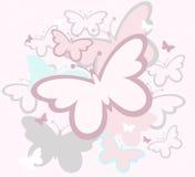 Las mariposas sueltan diseño libre illustration