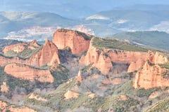 Las Medulas, Spain Fotografia de Stock Royalty Free
