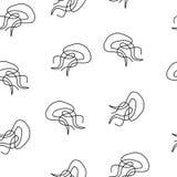 Las medusas modelan inconsútil stock de ilustración