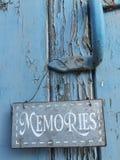 Memorias adentro aquí Imágenes de archivo libres de regalías