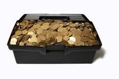 Las monedas Imágenes de archivo libres de regalías