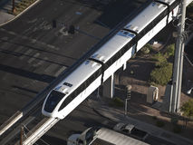 las monorail Vegas Obrazy Royalty Free